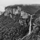 Bridal Veil Falls after Heavy Rain by Geoff Smith