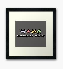 Video Games - Classically Trained Framed Print