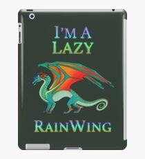 Ich bin ein Lazy RainWing iPad-Hülle & Klebefolie