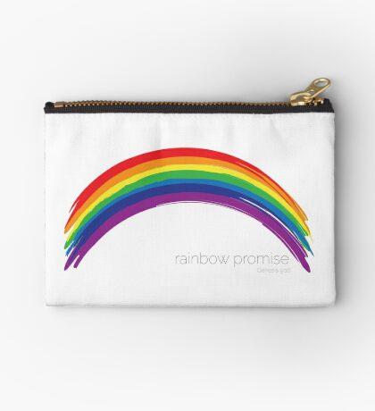 Rainbow promise Genesis 9:16 Studio Pouch