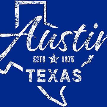 Austin Texas by Chocodole