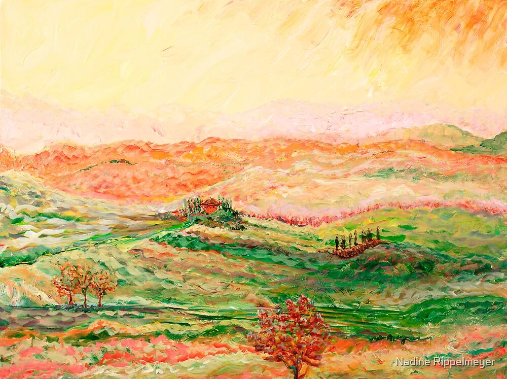 Tuscany Sunscape by Nadine Rippelmeyer
