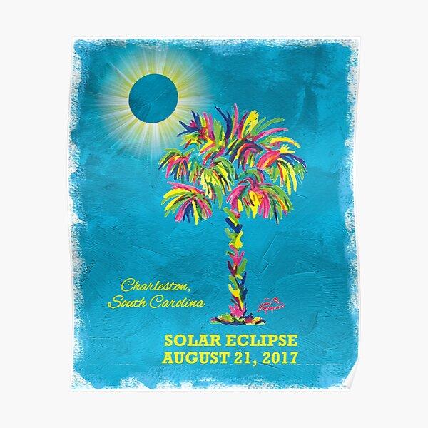 Solar Eclipse 2017 - South Carolina Poster
