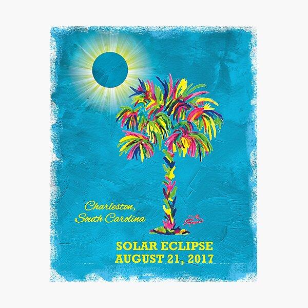 Solar Eclipse 2017 - South Carolina Photographic Print