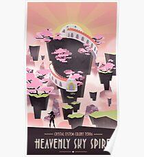 Steven Universe Sky Spire Poster