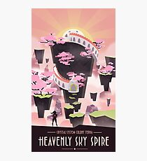 Steven Universe Sky Spire Photographic Print