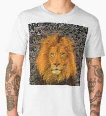 African Lion Men's Premium T-Shirt