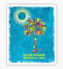 Solar Eclipse 2017 Sticker