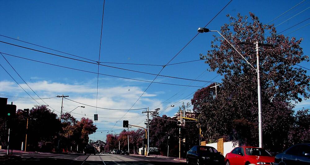 empty street by romeogigli