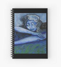 RABBIT DREAMING Spiral Notebook