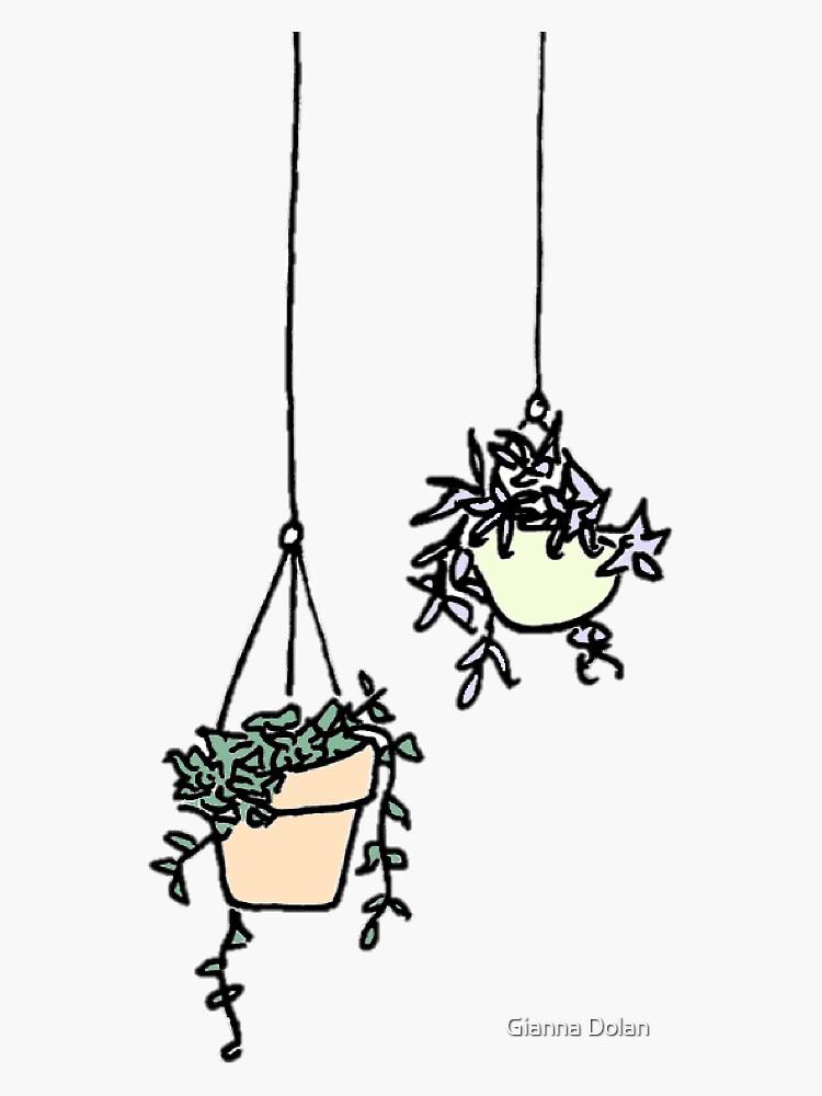 hanging planters by artmogi