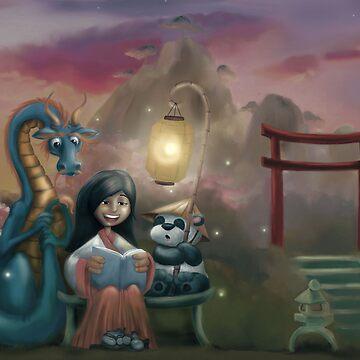 Evening Storytelling by aokstudios
