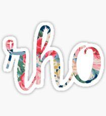 Rho Sticker