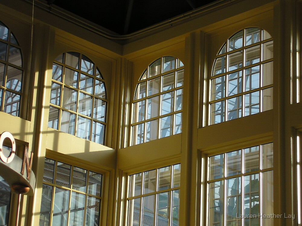 Sea of Panes...Druid Hill Conservatory  by Lauren Heather Lay
