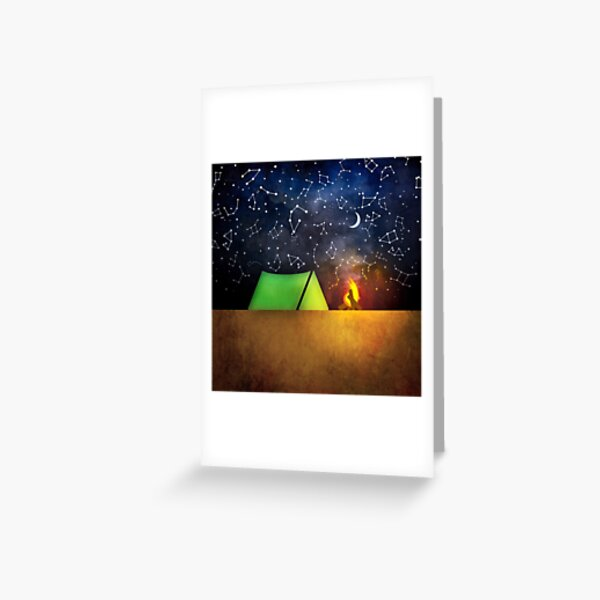 I Wanna Go Camping Greeting Card