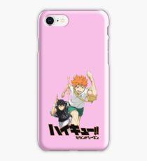 haikyuu- hinata and kageyama iPhone Case/Skin