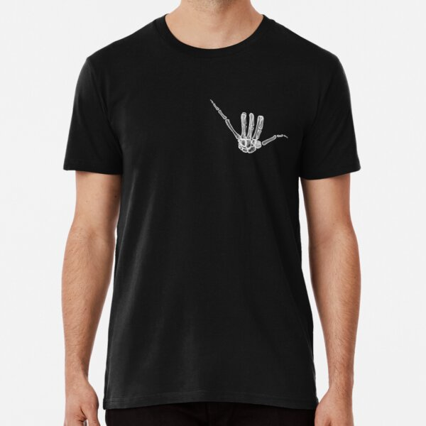 Hang Loose Xray (Without Black Outline) Premium T-Shirt