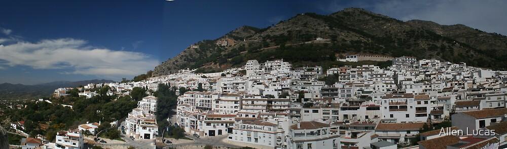 Mijas, Spain Panorama by Allen Lucas
