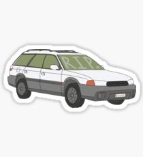 Rip Bucky  Sticker