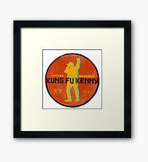 Kung Fu Kenny Gerahmtes Wandbild