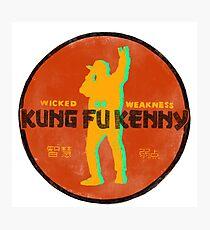 Kung Fu Kenny Photographic Print