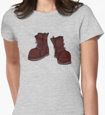 Boots (Red) T-Shirt