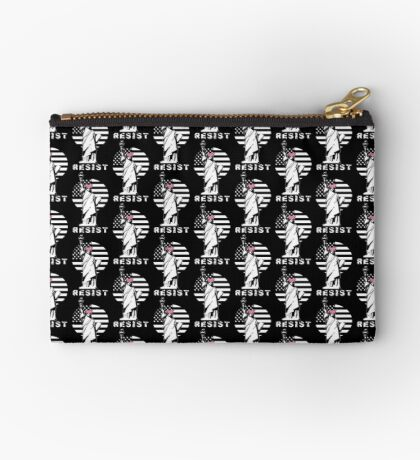 Lady Liberty Pink Protest Studio Pouch