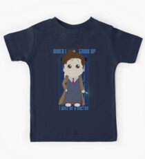 When I grow up, I will be a Doctor Kinder T-Shirt