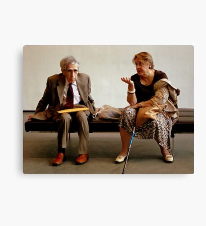 Real People Canvas Print
