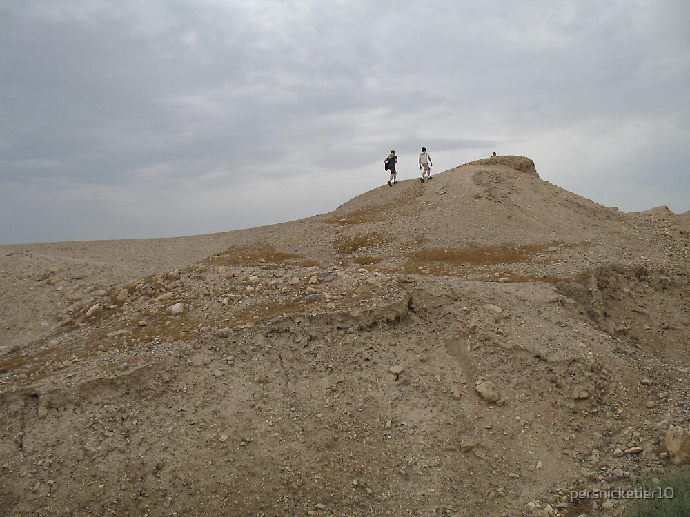 Climbing the ruins of Jericho by persnicketier10