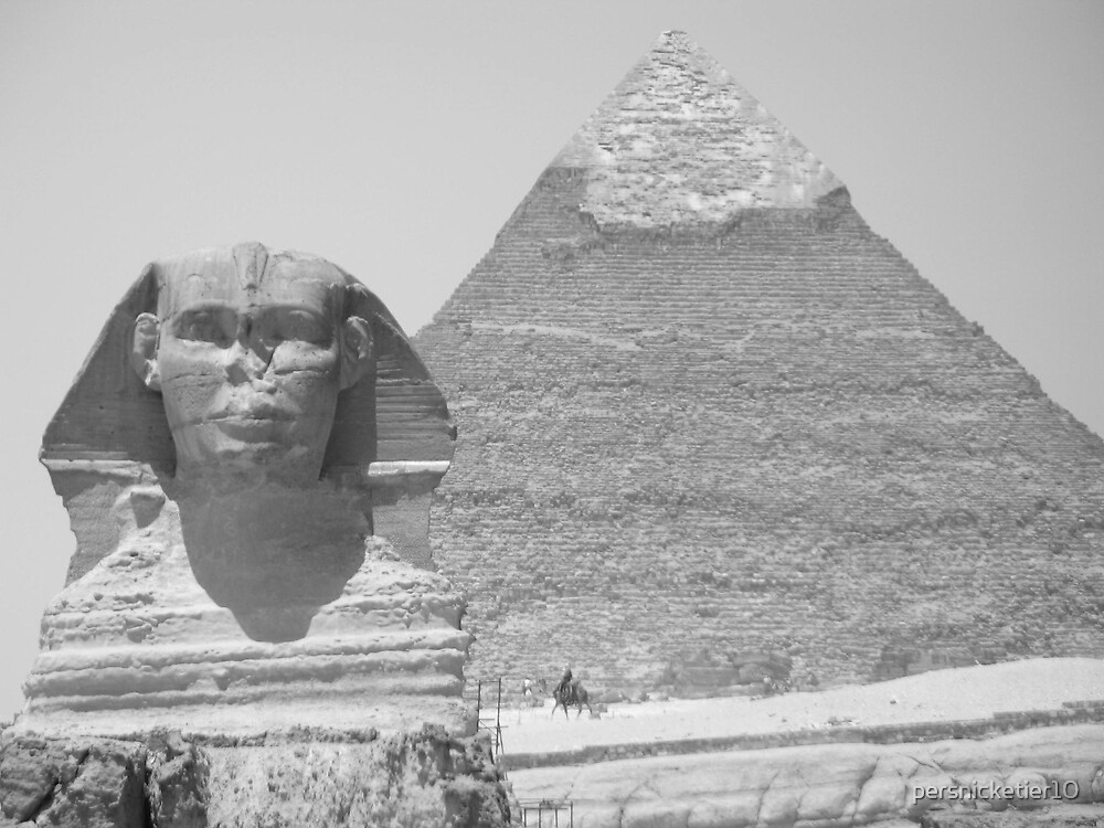 Great Sphinx by persnicketier10