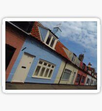Fisherman's Cottages, Southwold Sticker