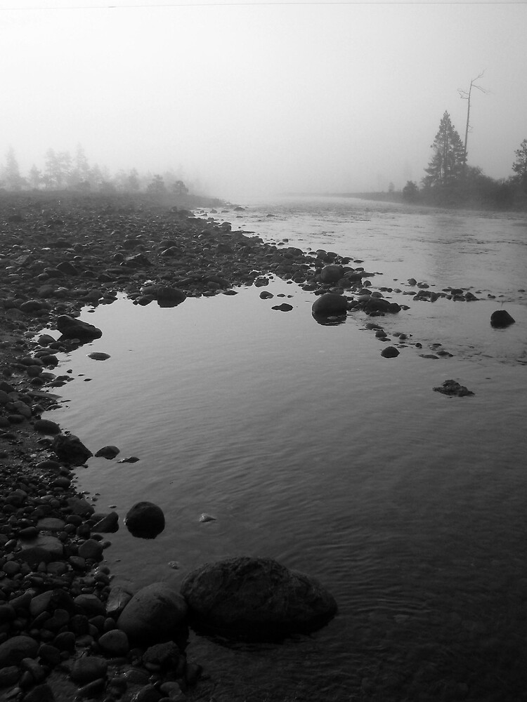Foggy River by Leah77