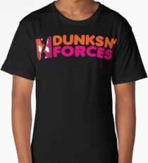 DUNKS N' FORCES Long T-Shirt