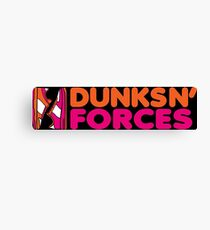 DUNKS N' FORCES Canvas Print