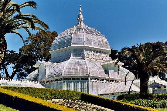 Golden gate park Conservatory in San Francisco, usa by chord0