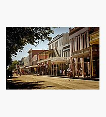 Old Sacramento Photographic Print