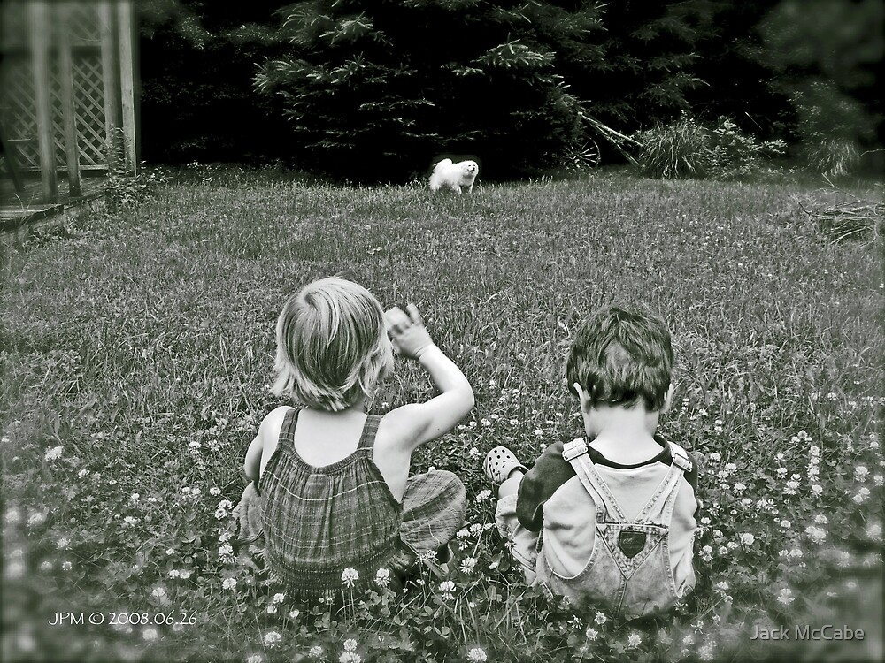 Young Siblings See Sylvie the Wonder Dog © 2008 by Jack McCabe
