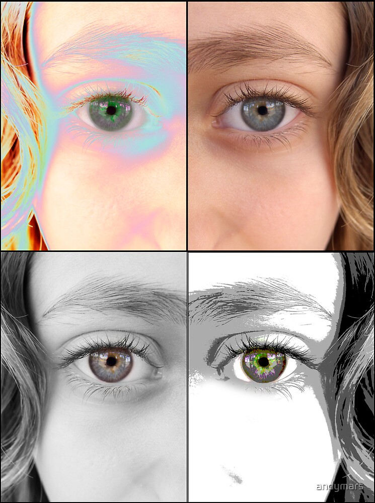 My daughter's eyes  by andymars