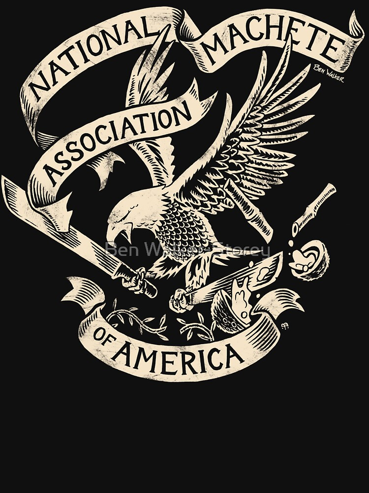 National Machete Association - Official Seal by ThatBenWalker