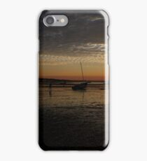 Sunset over the bay in Provincetown, Cape Cod, USA iPhone Case/Skin