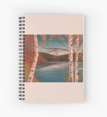 The Peaceful Lake Spiral Notebook