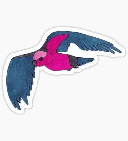 Galah in flight Sticker