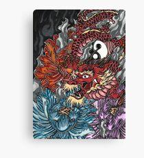 Japanese dragon  Canvas Print