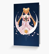 Sword of the Silver Crystal Greeting Card