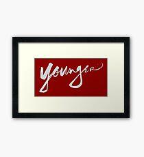 younger Framed Print