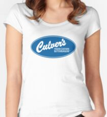 Culvers Burger Women's Fitted Scoop T-Shirt