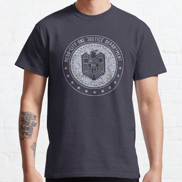 Mega-City One Justice Department (Dredd) Classic T-Shirt