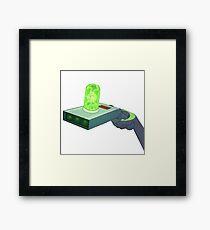 Rick and Morty Gun Framed Print