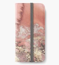 Vinilo o funda para iPhone Rose Gold Marble